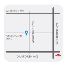 Childspace Daycare Centre 1 located at the Danforth and Woodbine area