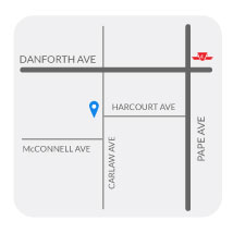 Childspace Daycare Centre 2 located at the Danforth and Pape area