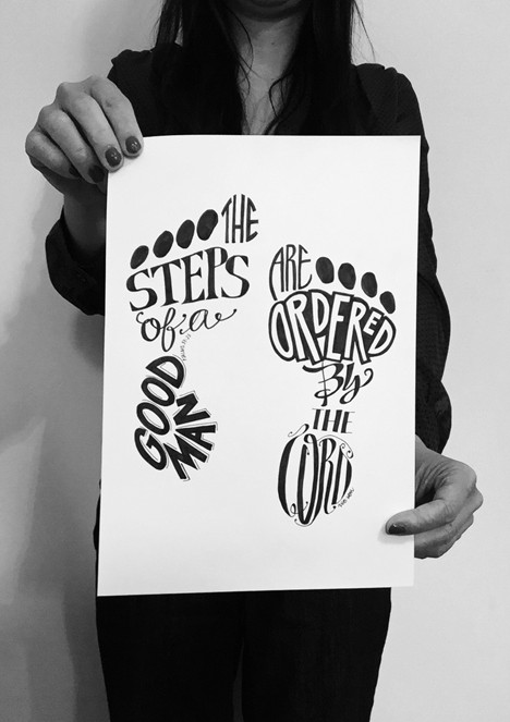 Hand lettering workshop in Toronto, GTA, Stouffville, Markham, Ontario, typography, type, design, projects, DIY